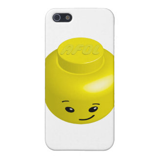 AFOL minifig head Case For iPhone 5