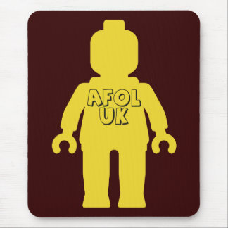 AFOL UK Minifig by Customize My Minifig Mouse Pad