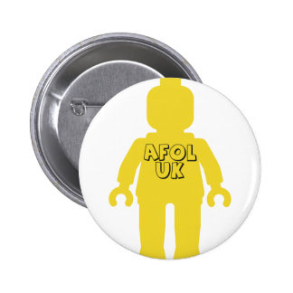 AFOL UK Minifig by Customize My Minifig Pin