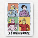 "Afombrilla de Ratón ""La Familia Mómiez"" Mouse Pad"