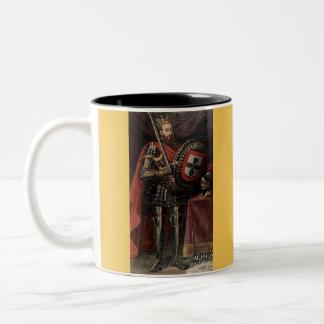 Afonso Henriques*, primer rey portugués Mug (1) Taza De Dos Tonos