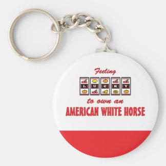 Afortunado a propio un diseño americano de la dive llaveros personalizados