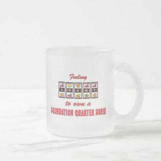 Afortunado a propio un diseño de la diversión del tazas de café