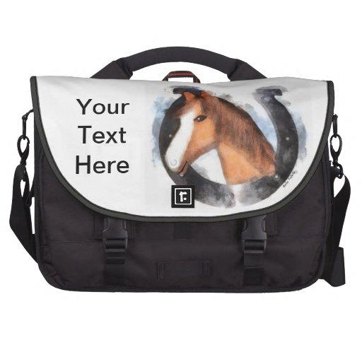 Afortunado el caballo bolsas de ordenador