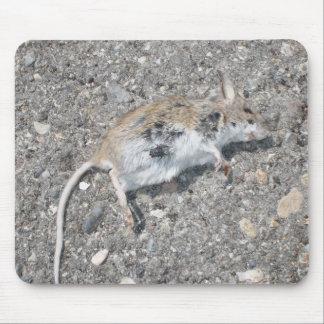 Afortunado el ratón - cojín de ratón tapete de ratón