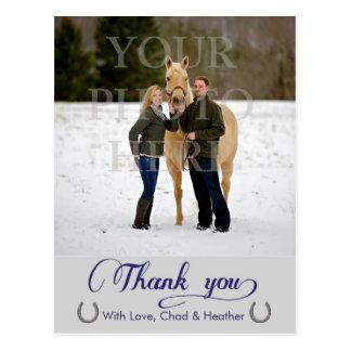 Afortunado en amor gracias las tarjetas postales