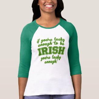 Afortunado para ser irlandés tshirts