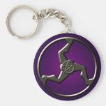 afortunado-triskelion-llave-cadena llavero personalizado