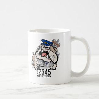 AFP ACT Police Angry Dog Coffee Mug