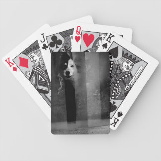 Afraid - playing cards
