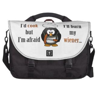 Afraid to burn my wiener 2 bags for laptop