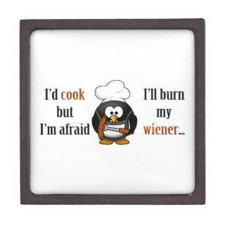 Afraid to burn my wiener 2 premium gift box