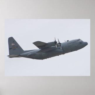 AFRC 92-3283 C-130H Hercules Poster