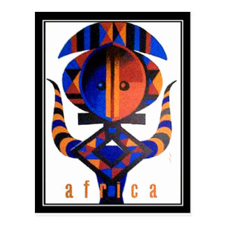 Africa2 Postcard
