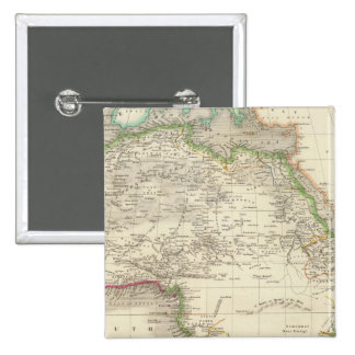 África 10 pin cuadrada 5 cm