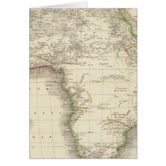 África 10 tarjeta de felicitación
