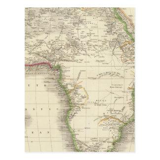 África 10 tarjeta postal
