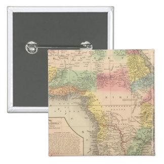 África 13 pin cuadrada 5 cm