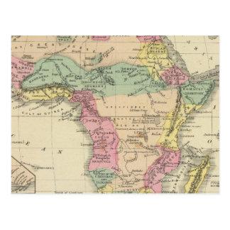 Africa 13 postcard