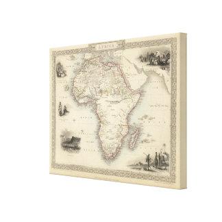 Africa 15 canvas print