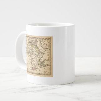 Africa 16 20 oz large ceramic coffee mug