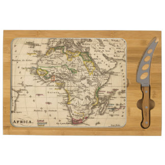 Africa 16 rectangular cheeseboard