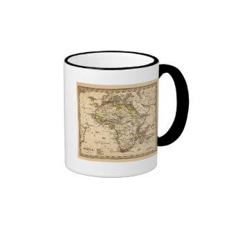 Africa 16 ringer coffee mug