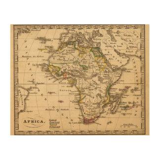 Africa 16 wood wall art