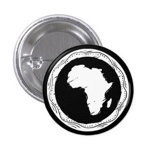 Africa 1 Inch Round Button
