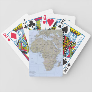 Africa 1 bicycle playing cards