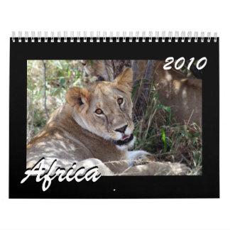 África 2010 calendario de 15 meses