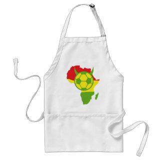 africa 2010 soccer devil adult apron