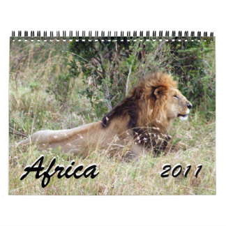 africa 2011 15 month calendar