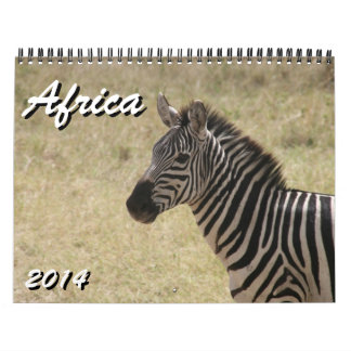 africa 2014 wall calendars