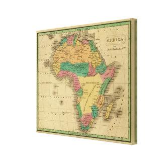 África 20 impresión en lienzo