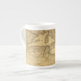África 20 taza de porcelana
