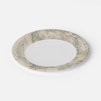 Africa 21 7 inch paper plate