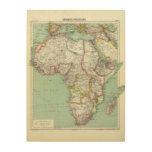 África 24 cuadro de madera