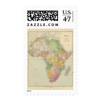 África 28 sellos postales