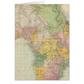 África 28 tarjeta de felicitación