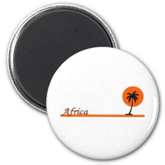 AFRICA 2 INCH ROUND MAGNET