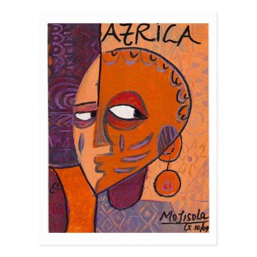 ÁFRICA 2 POSTALES