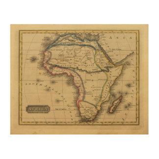 África 30 cuadro de madera