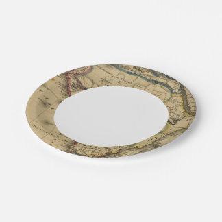 África 30 plato de papel de 7 pulgadas