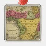 Africa 33 metal ornament