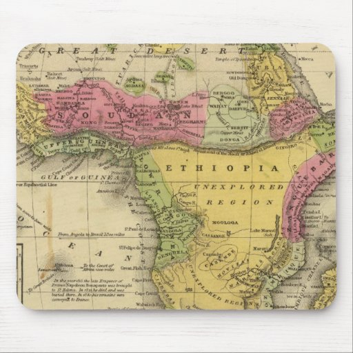 Africa 33 mouse pad