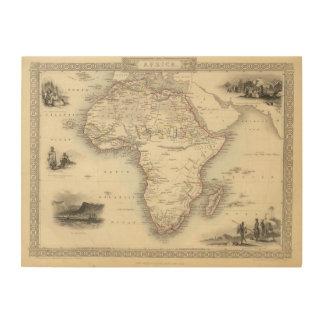 Africa 33 wood wall art
