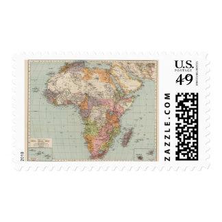 África 35 timbre postal