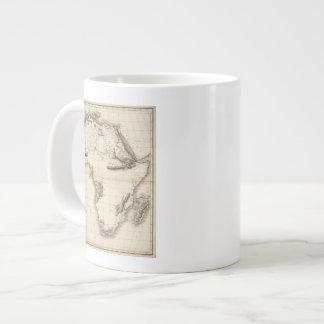 Africa 39 20 oz large ceramic coffee mug