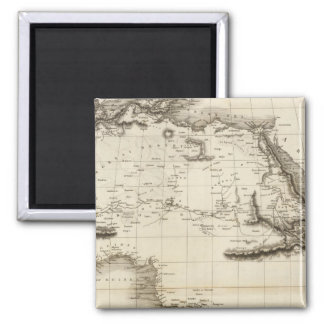 Africa 39 2 inch square magnet